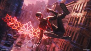 SpiderMan: Miles Morales Swinging Into Action