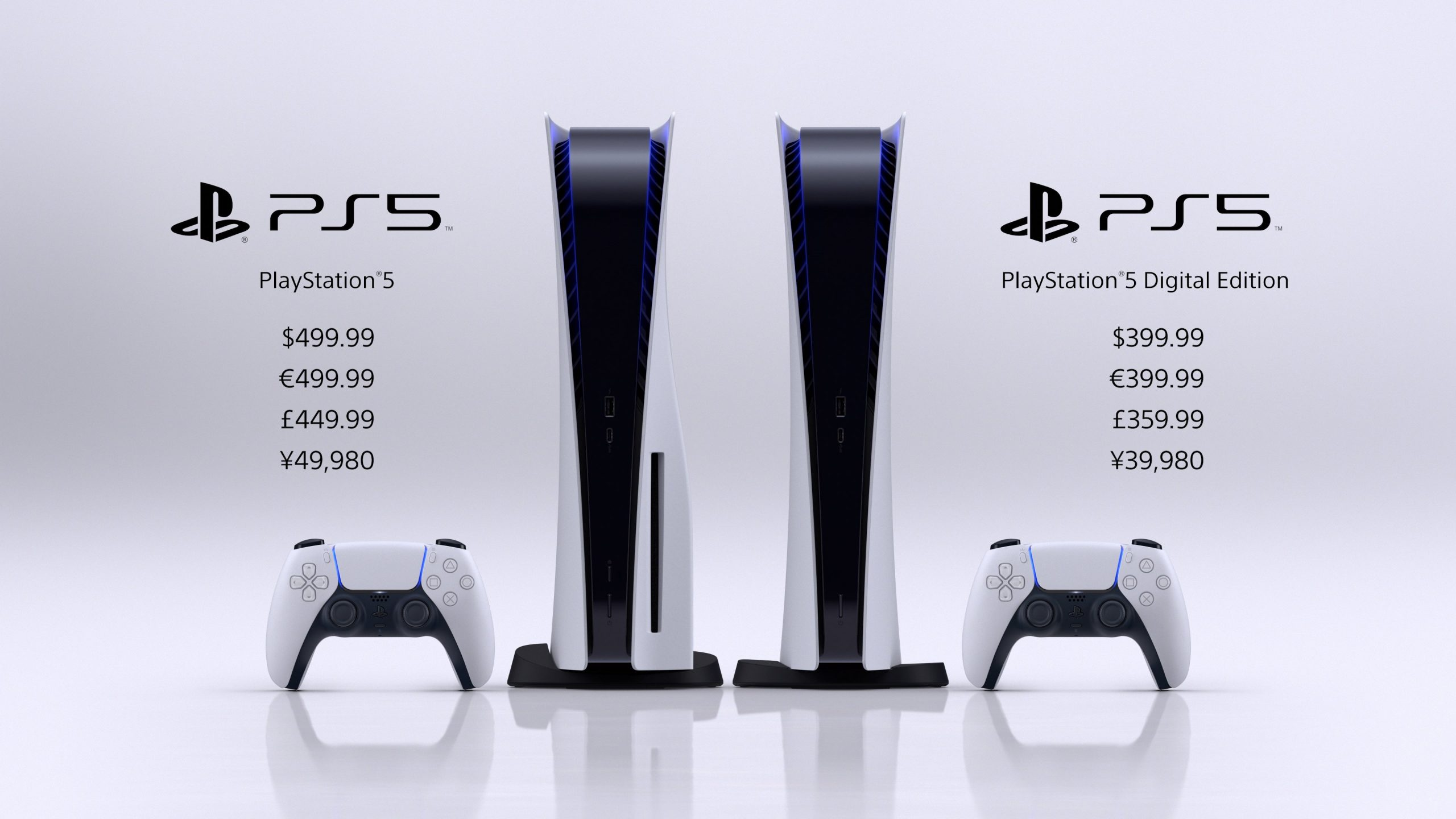 PS5 and PS5 Digital Edition Pricing