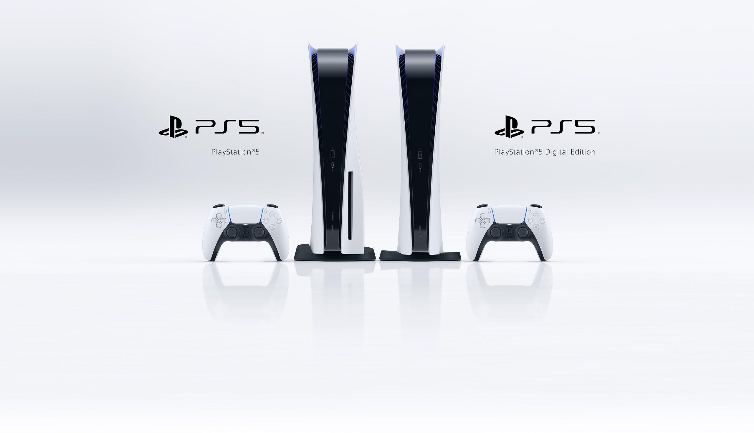 PlayStation 5 and PS5 Digital Edition